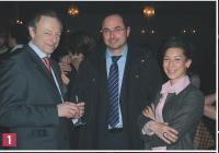 François Rouffiac (Editialis), Bassam Chour (Chouradviser), Assia Etiko (Affinion International)