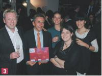 Serge Hauser (The CRM Company), Pierre- Yves Morvan (Yves Rocher), Aurélia Havet (The CRM Company), Elodie Dorfiac (Yves Rocher), Diane Lapeyre (The CRM Company).