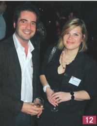 Stéphane Claret (Pageondemand), Isabelle Sallard (Marketing Direct).