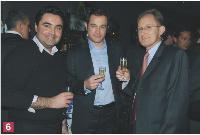 Juan-Manuel Miranda (Cohéris), Eric Buhagiar (Avaya), Fabrice Roux (Cohéris).
