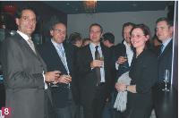 Hervé Lenglart (Editialis), Didier Farge et Nicolas Giard (Conexance MD), Arnaud Caplier (Acxiom), Nathalie Phan Place (SNCD).