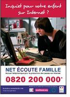 Net écoute famille répond gratuitement à toutes les questions que se posent enfants et parents sur Internet, le mobile et les jeux vidéo.