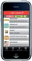 Téléchargée plus de 60 000 fois, l'application iPhone de Franprix permet de faire sa liste de courses en consultant les produits disponibles.