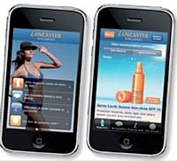 L'appli iPhone permet de développer une stratégie d'image à l'aide d'un dispositif non exploité encore par la concurrence.