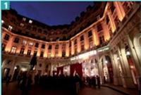 1 Les Palmes de la Relation Client se sont déroulées au théâtre Edouard VII, au coeur de la capitale.