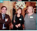 10 Raphaël Colas (La Poste) , Maryse Mougin (La Poste) et Michèle Haussmann (GMF).