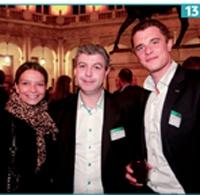 13 Leïla Bouguetaia (Relation Client Magazine), Didier Ferrier (Eodom)et Vincent Léonard (Relation Client Magazine).