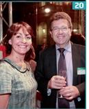 20 Sandrine Brasero (Teleperfor mance France) et Michel Pierret (Sony) .