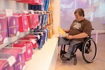 Les points de vente EDF sont désormais accessibles aux handicapés.