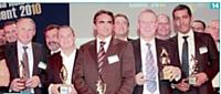 14 Philippe Monloubou (EDF), Laurent Tupin (VentePrivée.com) , Arnaud Vialard (CDiscount) , Harry Salamon (Mercedes-Benz) et JeanCharles Correa (Deafi ).
