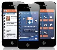 L'application permet de connaître le taux de prise en charge des soins médicaux.