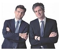 Olivier Duha (à gauche) et Frédéric Jousset les deux fondateurs et présidents de Webhelp