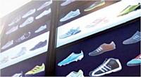 Une boutique virtuelle dans un magasin réel