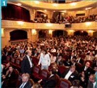 Les Palmes de la Relation Client ont eu lieu au théâtre Edouard VII, à Paris.