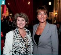 Natalie Jouen Arzur (Pacitel), et Pia Heitz Casanova (Euro CRM).