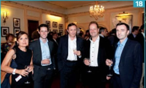 Maryse Mougin (La Poste), Stéphane Alcaraz (Adetem), Didier Duchassin (Orange) , Laurent Deslandres (Nexstage) et Laurent Kollen (KP / AM).