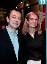 Thierry Spencer (Testntrust) et Armelle Balenceu (Direct Energie).