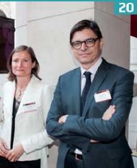 Valérie Morrisson (TNS Sofres) et Eric Falque (BearingPoint).