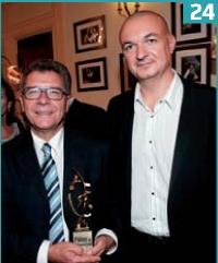 Michel Tirroloni (Groupama) et Philippe Vayssac (Groupama).