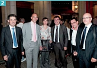 Mélanie Viénot (Union nationale des PIMMS), entourée des équipes EDF.