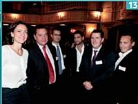 Sylvie Jehanno (EDF), Olivier Gronier (EDF / AFRC), Fabrice André (Orange), Laurent Uberti (Acticall/ SP2C), Olivier Leclerc (EDF) et Michel Guido (Mission nationale de la relation client).