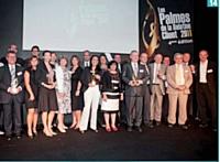 Les lauréats des Palmes.