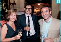 Martine Dupuichaud (BearingPoint), Eric Falque (BearingPoint) et Arnaud Féménia (Up & Under Consulting).
