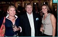 Annabel Labbé (GDF Suez) , Philippe de Gibon (Convers) et Chloé Beauvallet (PMU).