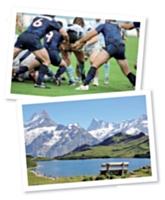 Le rugby et la montagne: deux des passions de Laurent Uberti.
