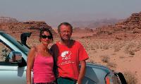 Passionnée de voyages, Catherine Doiteau a lâché son entreprise pour traverser, avec son mari, l'Afrique.