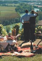 Pique-nique dans les vignes, visite des chais, dégustation et nuit dans un Relais & Chateaux: le vigneron champenois cherche à séduire les oenophiles.