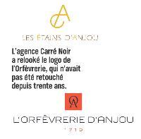 L'agence Carré Noir a relooké le logo de l'Orfèvrerie, qui n'avait pas été retouché depuis trente ans.