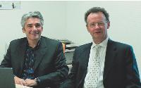 En cédant la totalité de ses parts à Pascal Mortreuil, (à gauche), Alain Géron a choisi un repreneur dont l'activité de son entreprise complète la sienne.