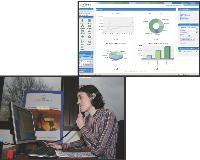 Lors de l'apprentissage du logiciel, le formateur a, sous les yeux, le même écran que son «élève». Il accompagne les apprenants pas à pas au téléphone et s'adapte au niveau de chacun.
