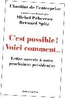 > LETTRE OUVERTE A NOTRE PROCHAIN(E) PRESIDENT(E)