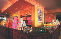 La confiserie Florian réalise 95 % de son chiffre d'affaires avec ses boutiques situées au-dessus de ses usines. Ci-dessus, le magasin de Nice.
