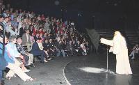 La pièce de théâtre Si Simon m'était conté a ravivé les souvenirs des anciens salariés et séduit les clients.