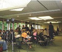 Les dirigeants sont de plus en plus demandeurs de sessions de média training comme ici, à la CCI de Lille.