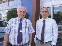 Jacki et Christophe Cyrille codirigent la concession automobile.