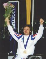 Guy Tisserant a remporté 4 médailles d'or aux Jeux paralympiques, de 1984 à 1996.