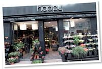 Les magasins Happy misent sur une offre contemporaine et prennent en compte la notion de développement durable.