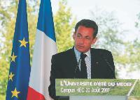 Sarkozy veut assouplir les 35 heures