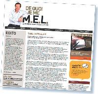 Le blog permet de prendre la parole en dehors de son métier. Ci-dessous, le blog de Michel-Edouard Leclerc.