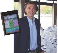 Pour booster sa productivité, Marc Rémusat a fait adopter PDA et wi-fi à son personnel de salle, ainsi relié aux cuisines.