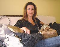 Elle propose des sacs de luxe à la location