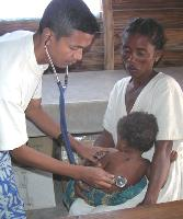 En juillet dernier, Codip pour l'Enfance, la fondation de Claude Carbonnel, a financé l'installation de médecins de campagne à Madagascar.