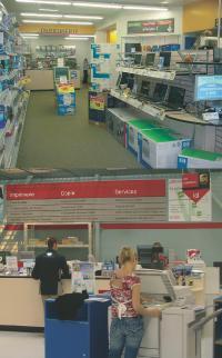 Office Depot propose différents services d'impression et de reprographie dans ses magasins.