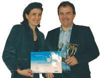 Emmanuelle Pérès (CJD) et Bertrand Bigay