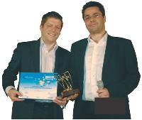 Thomas Chaudron (CJD), à gauche, et Greg Zemor
