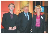 Frédéric Bruneau, Jean-Marie Epaillard et Isabelle Desprez (DCF).